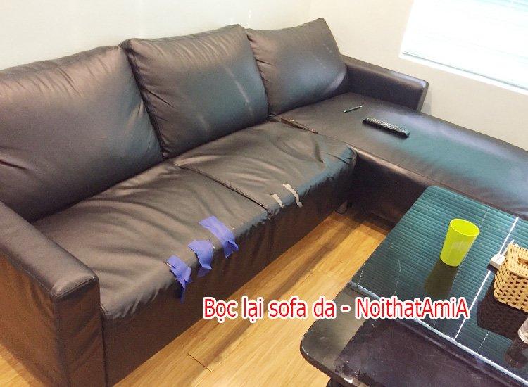 Nhận bọc lại sofa da giá rẻ tại Hà Nội - AmiA