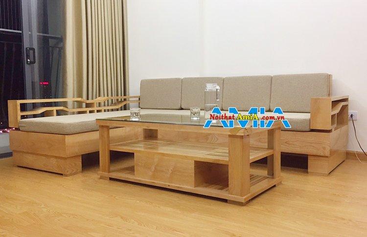 Làm sofa gỗ theo yêu cầu tại xưởng giá rẻ