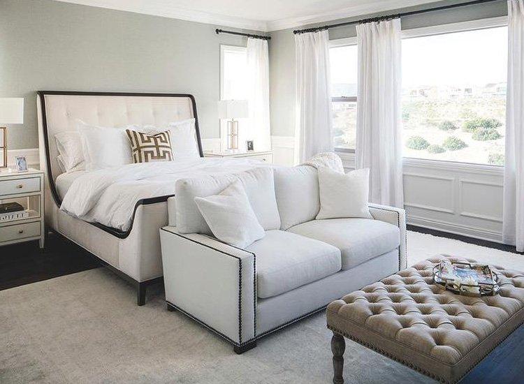 Phòng ngủ và sofa đẹp hiện đại