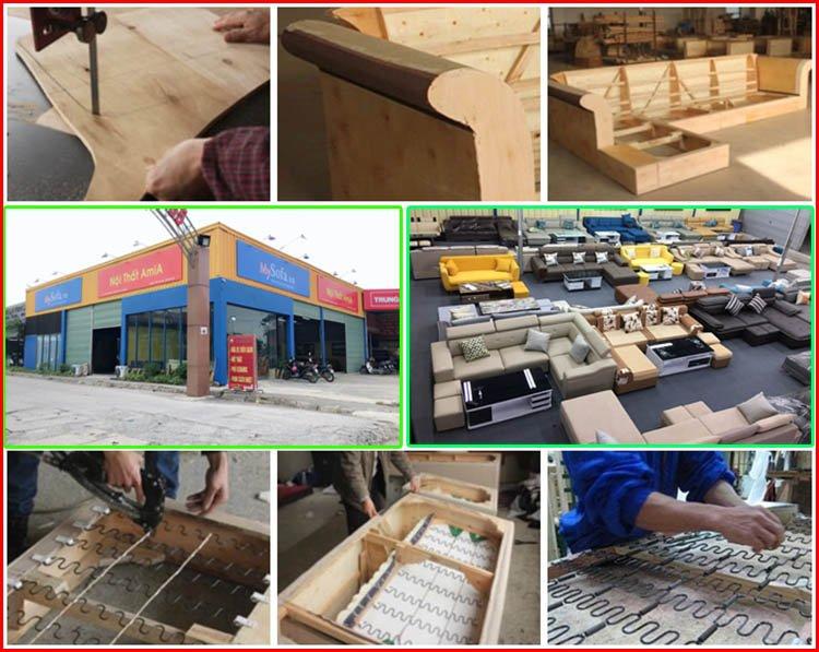 Xưởng sản xuất sofa giá rẻ Hà Nội uy tín