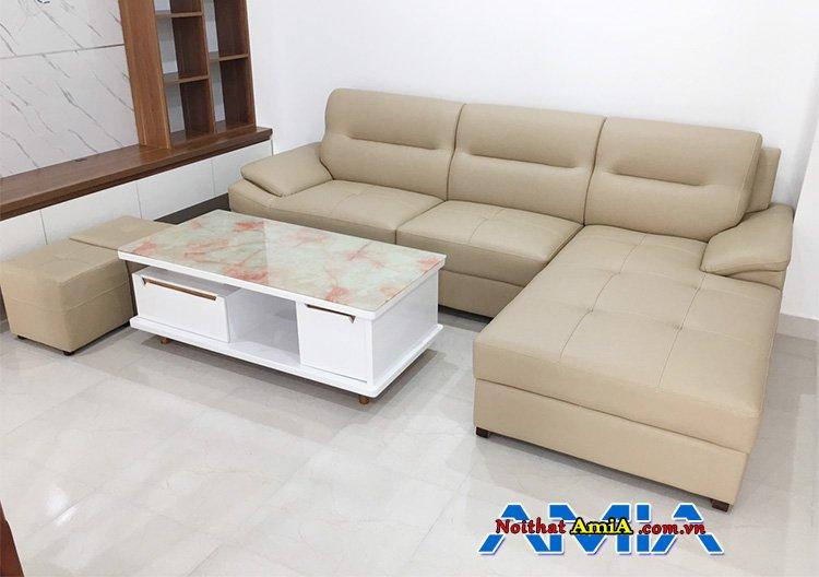 Sopha góc phòng khách giá rẻ AmiA SFD141