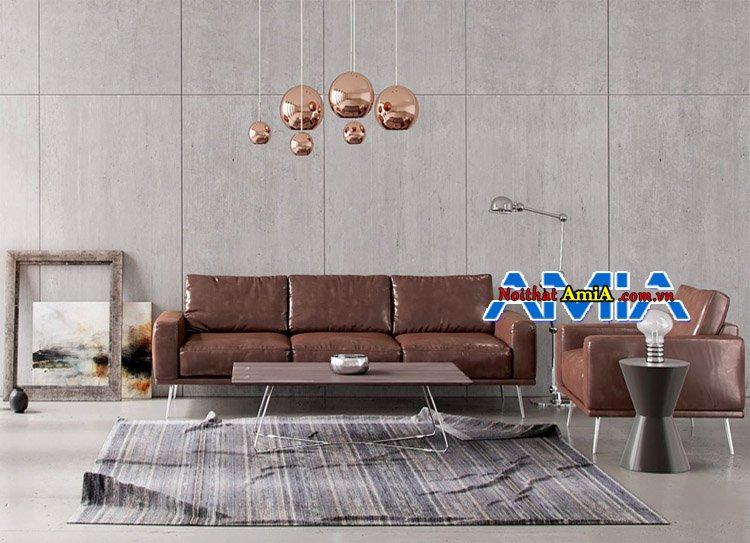 Bộ ghế sofa phòng khách nhà phố hiện đại