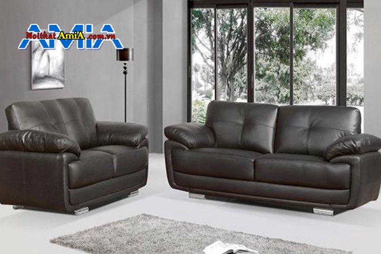 Bộ sofa phòng khách nhà mặt phố nhập khẩu