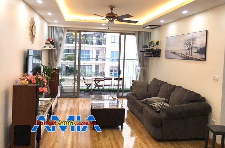 hướng kê sofa cho căn hộ chung cư tại Hà Nội