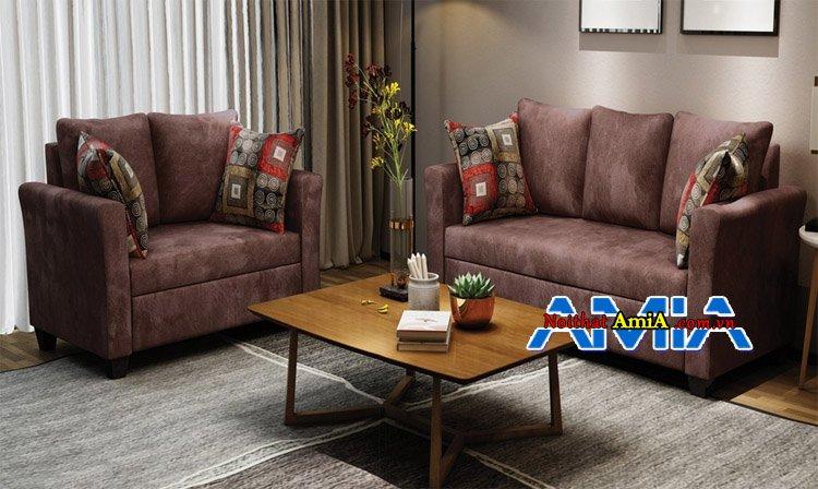 Sofa bộ phòng khách nhà phố cao cấp