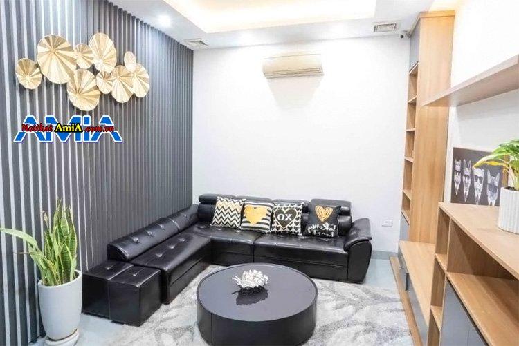 Sofa đẹp cho phòng khách nhà ống sang trọng