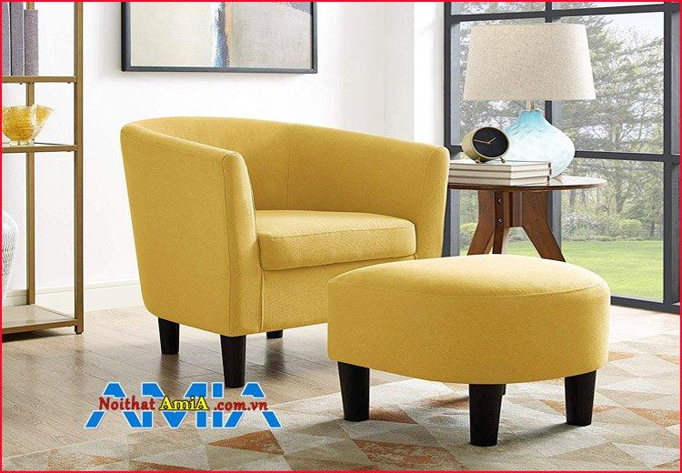 Hình ảnh mẫu ghế sofa đơn cho căn hộ 1 phòng ngủ nhỏ xinh