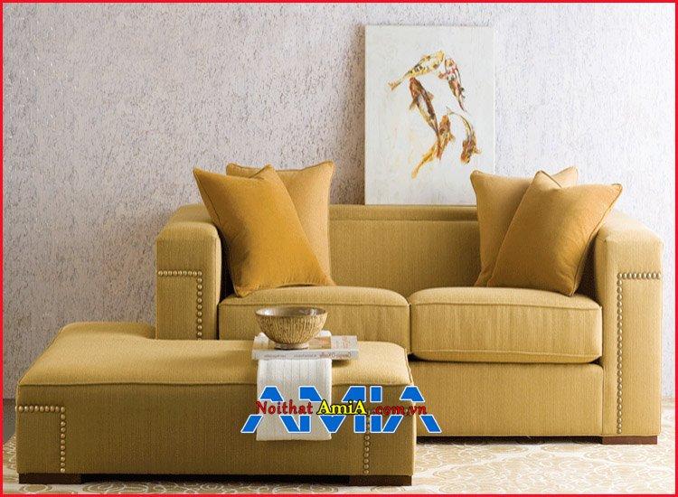 Hình ảnh mẫu ghế sofa nhỏ cho căn hộ hiện đại