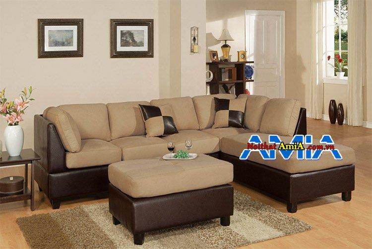 sofa phòng khách nhà phố sang trọng phong cách pháp