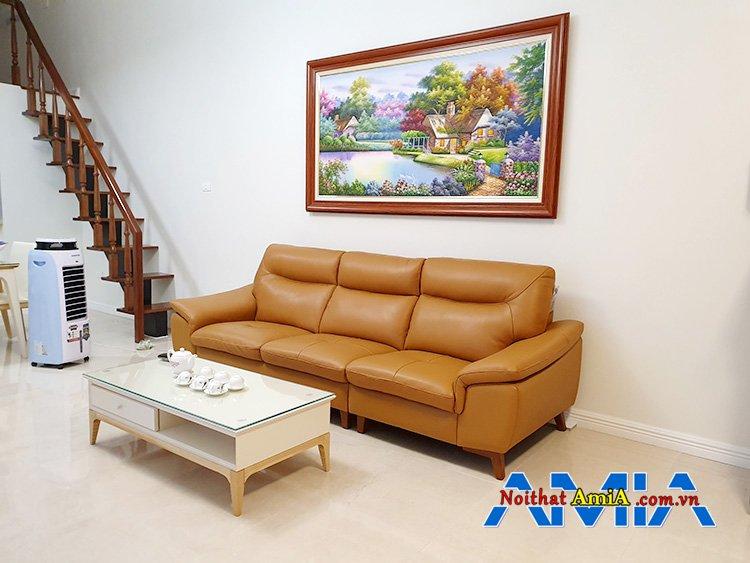 Hình ảnh ghế sofa văng cho phòng khách chung cư