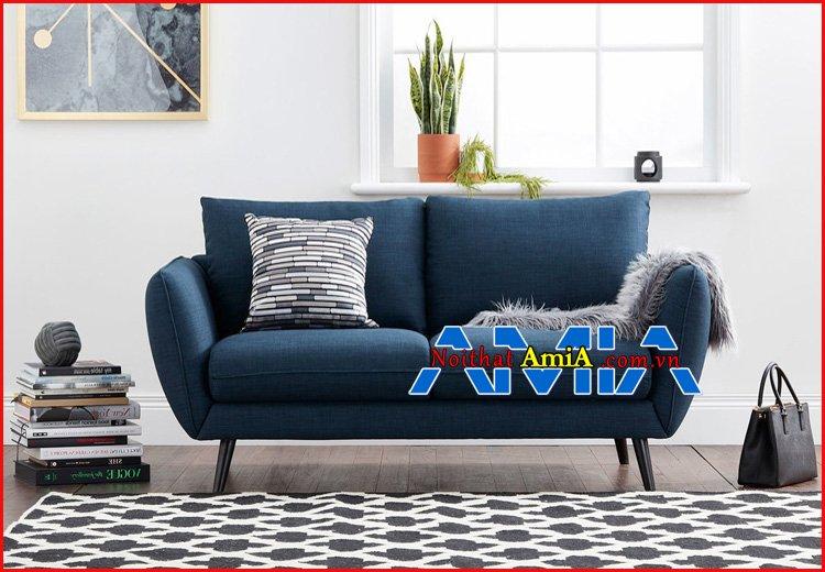 Xu hướng sofa nỉ cho chung cư mini hiện đại
