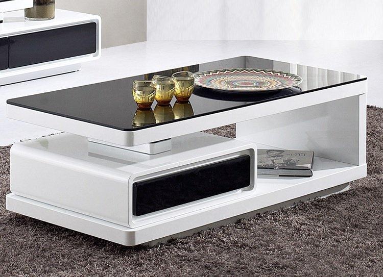 Ngắm nhìn mẫu bàn trà chung cư hiện đại hình chữ nhật được yêu thích nhất