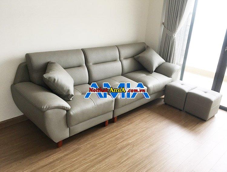 HÌnh ảnh mẫu ghế sofa cho phòng khách chung cư nhỏ 35 Lê Văn Thiêm