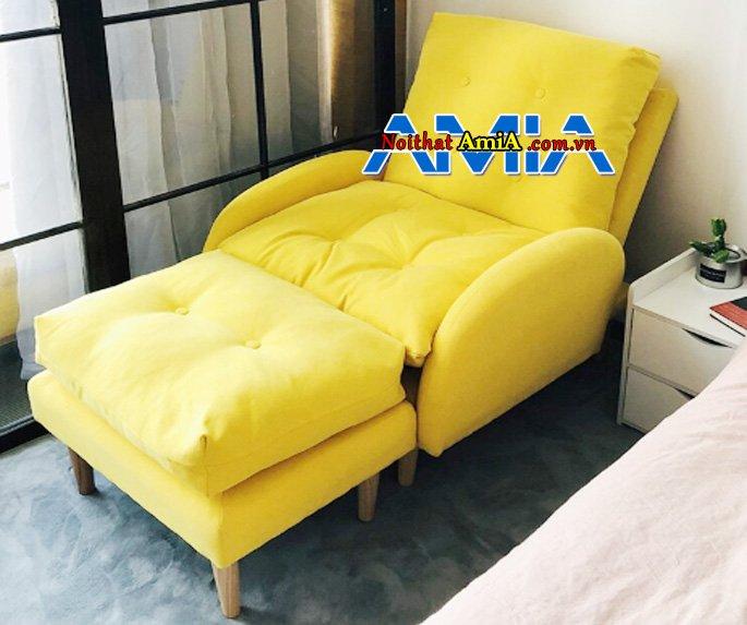 sofa chung cư đặt tại ban công