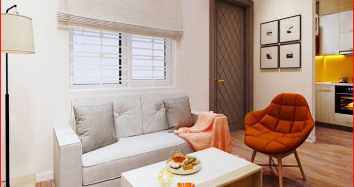 Hình ảnh ghế sofa nhỏ cho nhà chung cư tiết kiệm diện tích