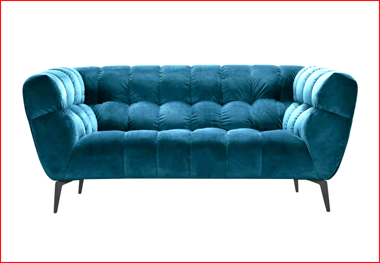 Hình ảnh ghế sofa nhung 2 chỗ cho chung cư nhỏ đẹp
