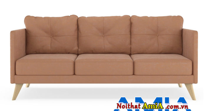 Cách vệ sinh sofa da lộn màu da bò tại nhà
