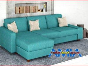 Hình ảnh Ghế sofa chữ L đẹp 1 bên không tay vịn