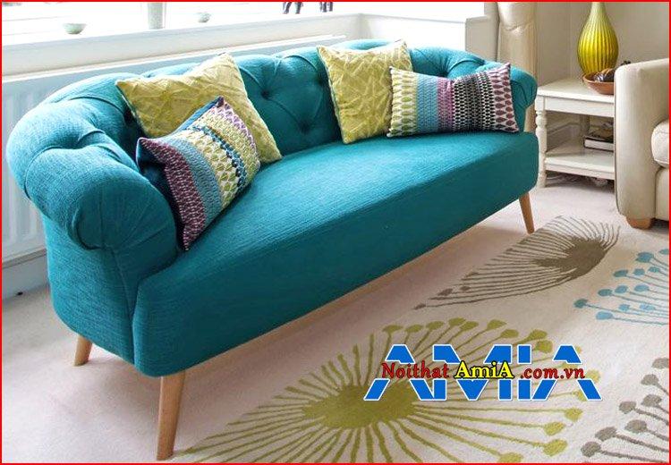 Hình ảnh sofa đẹp nhất xanh ngọc