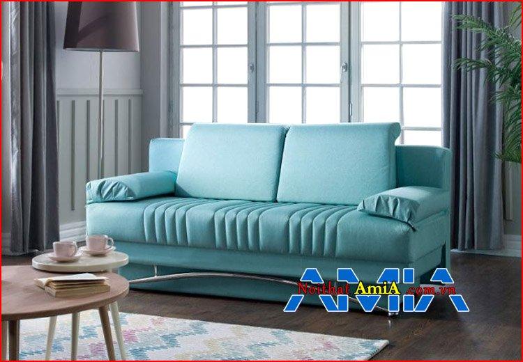 Mẫu ghế sofa đẹp xanh ngọc trai hiện đại