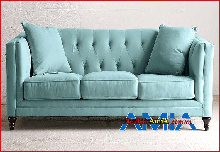 Hình ảnh sofa màu xanh ngọc tân cổ điển đẹp 199223