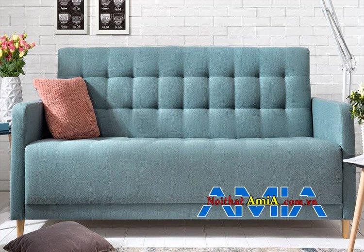 Hình ảnh ghế sofa văng xanh nhạt