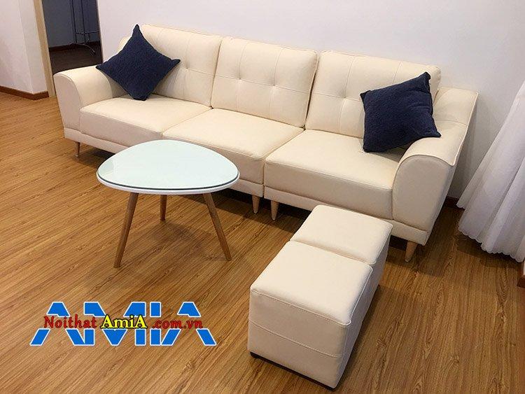 Độ bền của bộ ghế sofa văng chân gỗ bao nhiêu năm