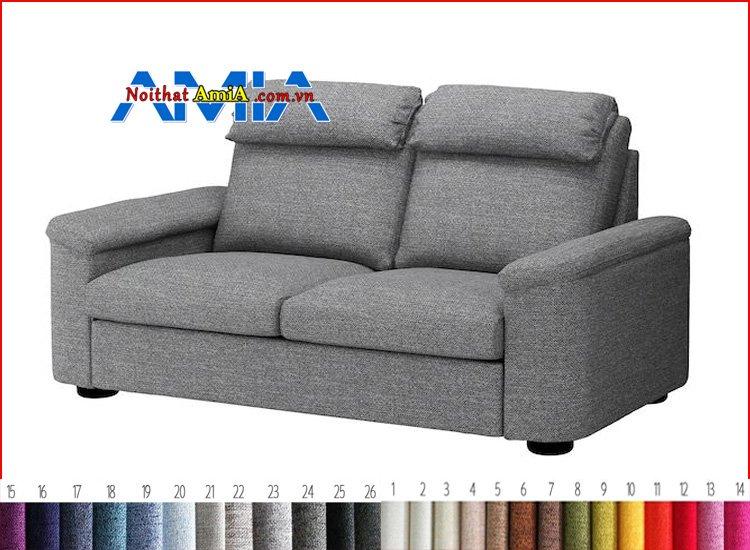 bộ ghế sofa văng chân gỗ thấp hiện đại