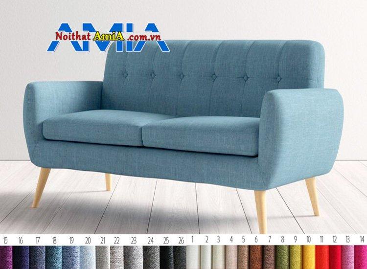 ghế sofa cafe chân gỗ cao ấn tượng