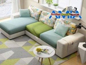 bộ ghế sofa chung cư hiện đại phối màu đẹp AmiA SFN199278