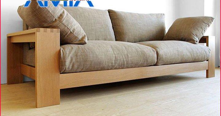 bộ sofa khung gỗ tự nhiên đẹp
