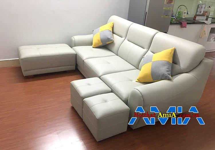 Chất liệu ghế sofa bọc da Malaysia (Simili)