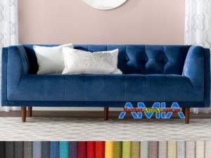 ghế sofa nỉ nhung đẹp dạng văng dài AmiA SFN199260