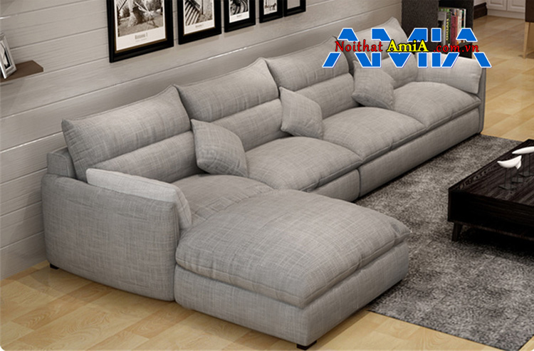 sofa vải cho phòng khách rộng 199293