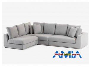 Hinh anh mau ghe sofa boc ni mau ghi hien dai AmiA SFN16012012