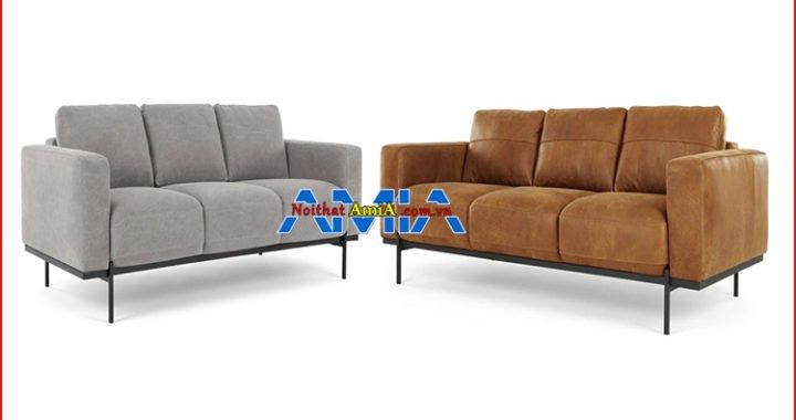 Nên chọn sofa da hay nỉ phù hợp