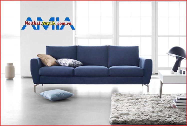 sofa chân Inox cho phòng khách nhỏ đẹp