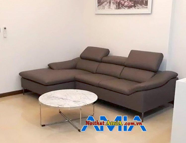 Ghế sofa đẹp kết hợp mút tốt D40