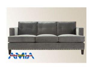 Hinh anh mau ghe sofa ni mau long chuot dep AmiA SFN2101203