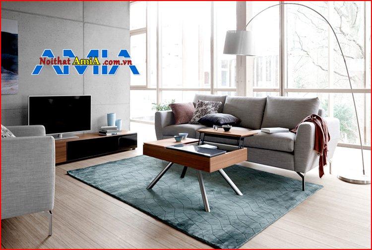 sofa phòng khách hiện đại chân Inox cho Resort