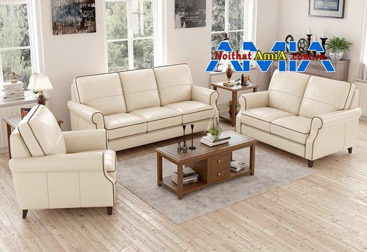 sofa văng cho phòng khách hiện đại mã SFD199276