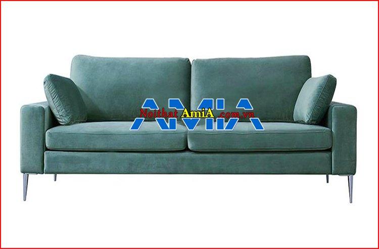 sofa văng nỉ đẹp tay vịn vuông mã SFN1992101