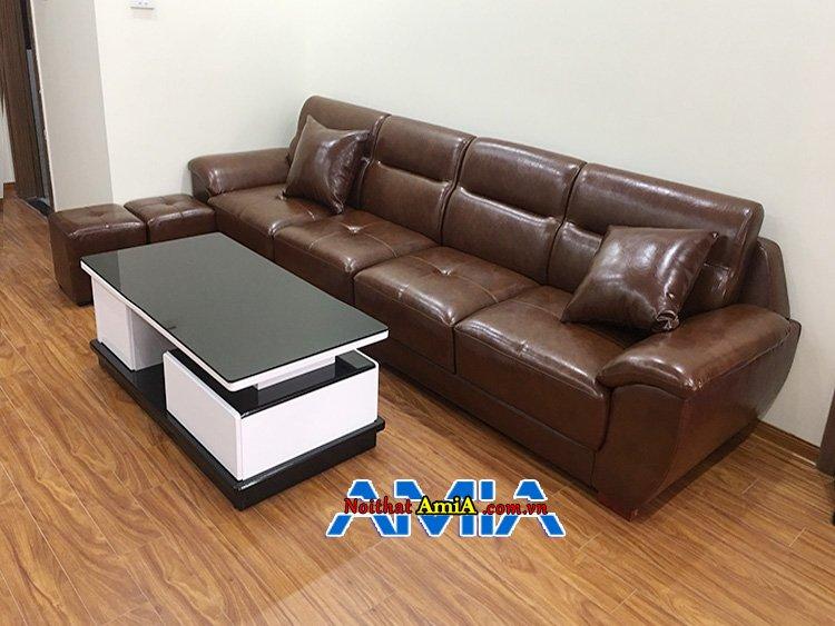 Bộ bàn ghế sofa phòng khách sang trọng