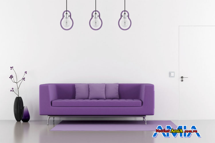 Mẫu bàn ghế màu tím đẹp giá rẻ