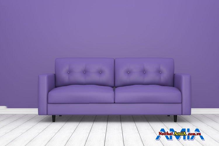 Hình ảnh bàn ghế màu xanh tím trẻ trung