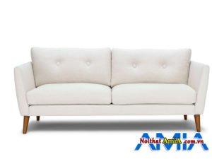 Hình ảnh ghế sopha màu trắng sữa đẹp