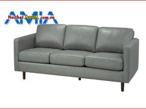 sofa da công nghiệp PU giá rẻ AmiA SF1992113