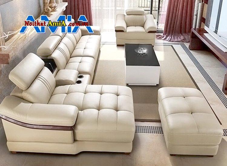 sofa da Microfiber nhập khẩu AmiA SF1992121