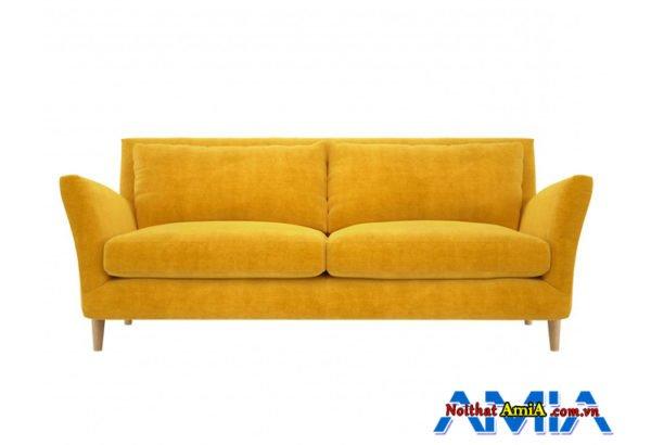 Hình ảnh ghế sofa văng màu vàng đẹp
