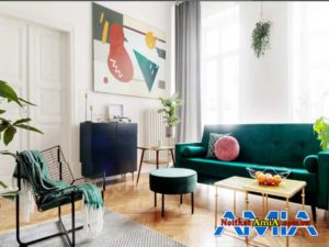 bo ban ghe sofa mau xanh dep AmiA AmiA SFN1402202011